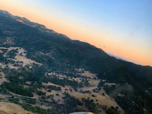 Above Santa Margarita in the C-47