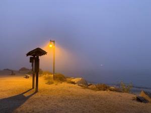 Fog at Morro Rock