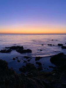 Sunset over Cambria