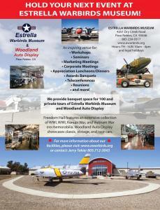 Facilities Rental Flier